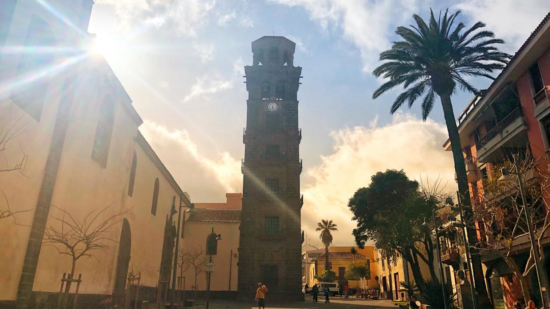 Teneriffa_Candelaria_Church_Sunset_16_9